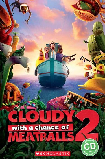 Cloudy with a Chance of Meatballs 2 (Book and CD)