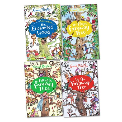 The Faraway Tree Pack x 4