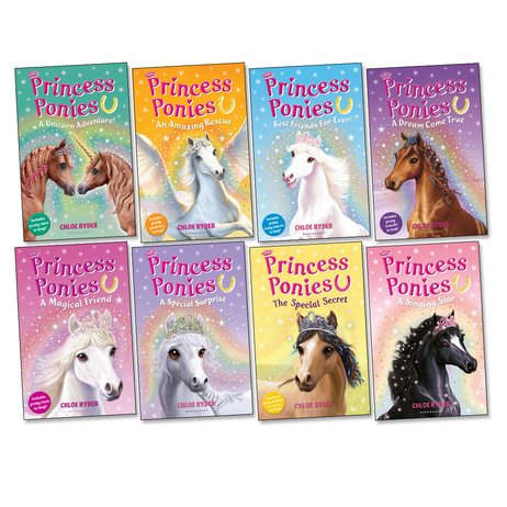 Princess Ponies Pack x 8