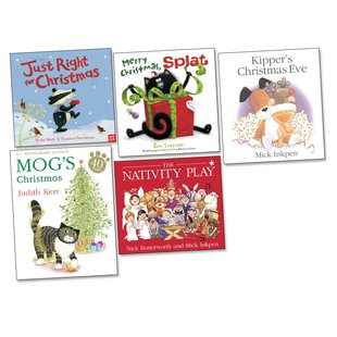 Christmas Picture Books Pack x 5