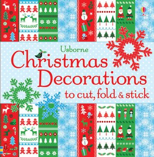 Xmas DecorationsFold,Cut&Stick