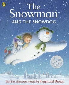 Snowman And Snow Dog Book + CD