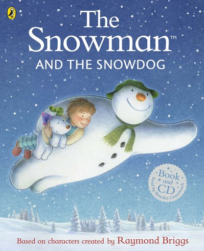 The Snowman and the Snowdog: Book and CD