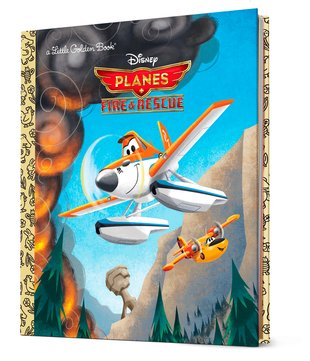 Little Golden Book: Disney Planes - Fire and Rescue