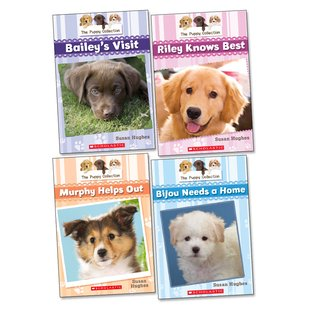 The Puppy Collection Pack x 4