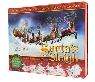 Make Your Own Santa's Sleigh