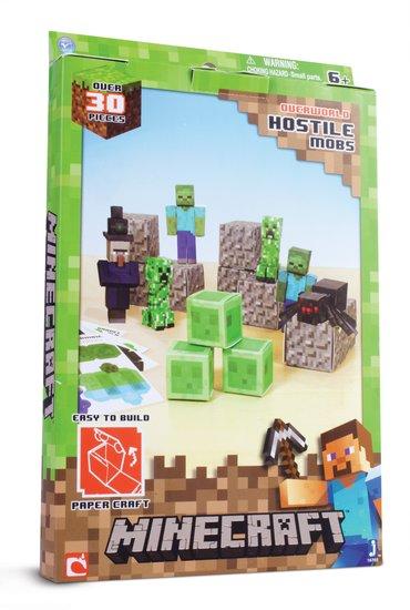 5+Easy Papercraft Minecraft Hostile Mobs