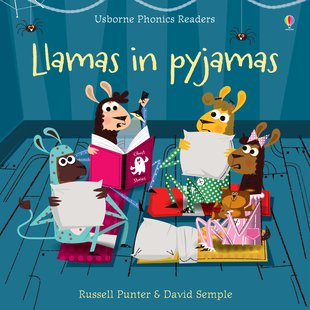 Usborne Phonics Readers: Llamas in Pyjamas