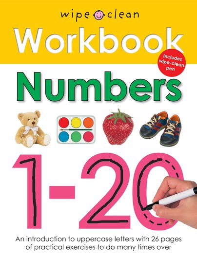 Wipe-Clean Workbook: Numbers 1-20