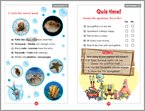 SpongeBob Squarepants: Underwater Friends - Sample Activity (1 page)