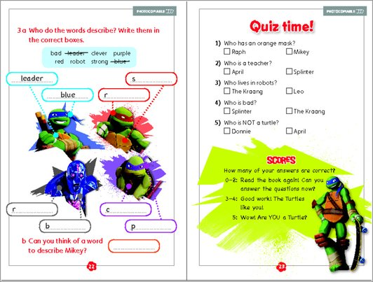Meet the Turtles - Sample Activity