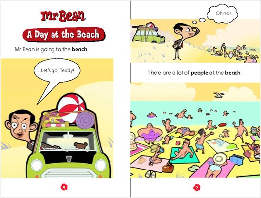 Mr Bean: A Day at the Beach - Sample Page