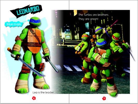 Meet the Turtles - Sample Page