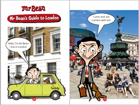 Mr Bean's Guide to London - Sample Page