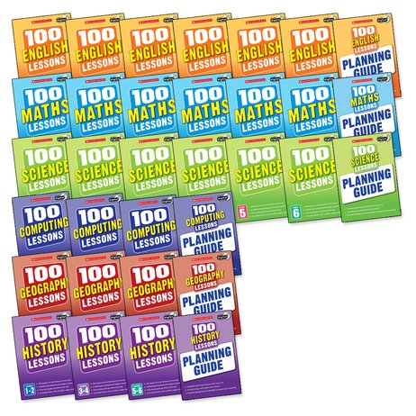 100 Lessons for the 2014 Curriculum: Super Easy-Buy Complete Pack x 33