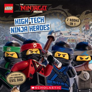 The LEGO® Ninjago® Movie Flip Book