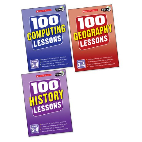 100 Lessons Pack: Years 3-4 x 3