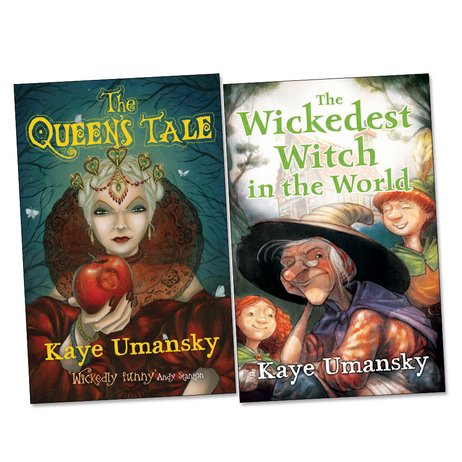 Barrington Stoke: Kaye Umansky's Fractured Fairy Tales Pair