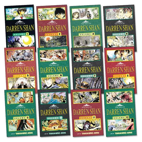 The Saga of Darren Shan Manga Pack x 12