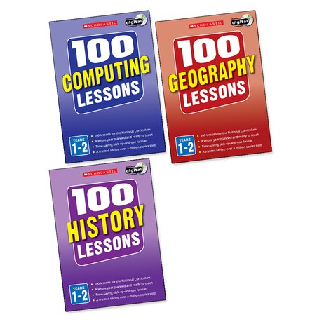 100 Lessons Pack: Years 1-2 x 3