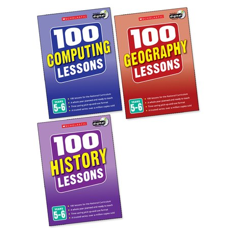 100 Lessons Pack: Years 5-6 x 3