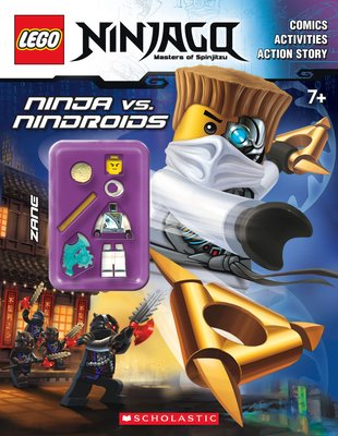 LEGO Ninjago: Ninja vs Nindroids Activity Book