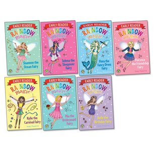 Rainbow Magic Early Readers Pack x 7
