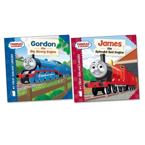 Thomas and Friends Board Book Pair