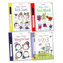Usborne Wipe-Clean Learning Pack x 4