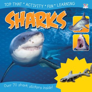 Sticker Station: Sharks