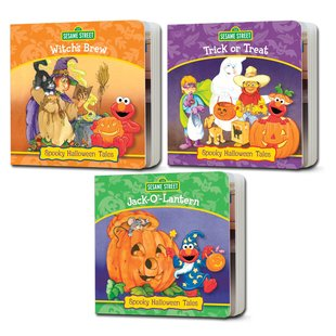 Elmo's Halloween Board Book Pack