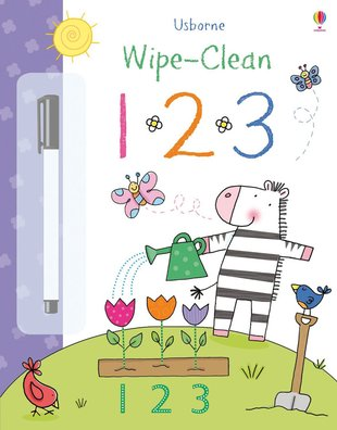 Usborne Wipe-Clean: 123