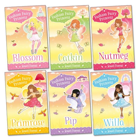 Fashion Fairy Princess: Jewel Forest Pack x 6
