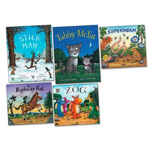Julia Donaldson and Axel Scheffler Pack x 5