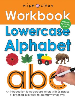 Wipe Clean Workbook: Lowercase Alphabet