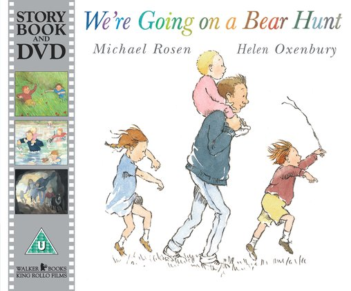 We're Going on a Bear Hunt: Book and DVD