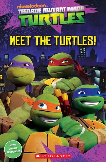 Teenage Mutant Ninja Turtles: Meet the Turtles! (Book only)