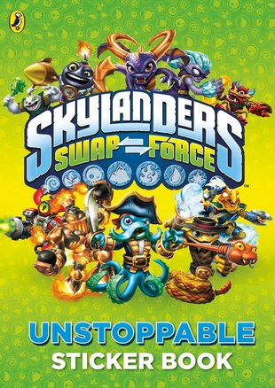 Skylanders Swap Force: Unstoppable Sticker Book