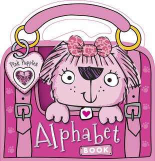 Pink Puppies Alphabet Book