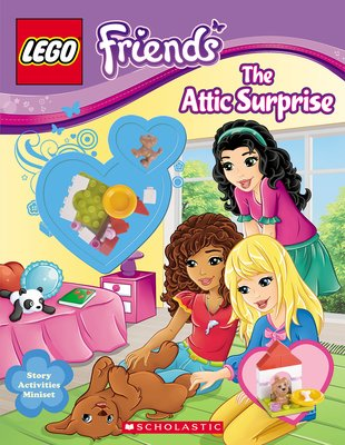 LEGO Friends: The Attic Surprise Activity Book