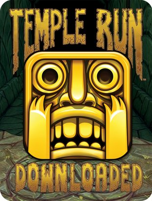 Temple Run: Downloaded