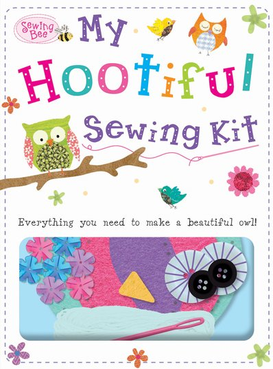 Book Cover Sewing Kit : My hootiful owl sewing kit scholastic shop