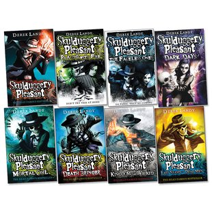 Skulduggery Pleasant Pack x 8