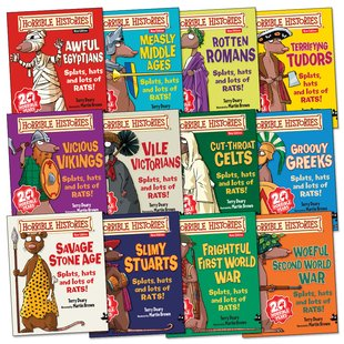 Horrible Histories Pack (Junior Editions) x 12