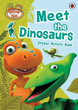 Dinosaur Train: Meet the Dinosaurs Sticker Activity Book