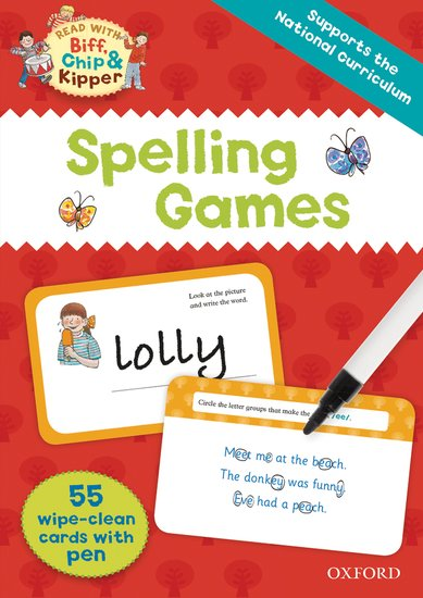 Read With Biff, Chip and Kipper: Spelling Games