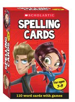 Scholastic Spelling Cards: Ages 7-9