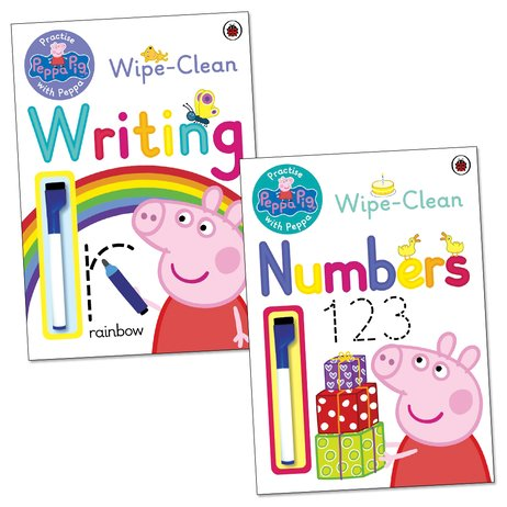 Peppa Pig: Practise With Peppa Wipe-Clean Learning Pack