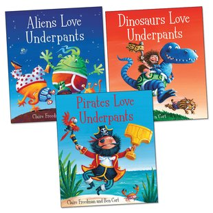 Aliens Love Underpants Trio