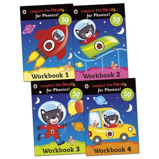 Ladybird: I'm Ready... for Phonics! Workbook Pack